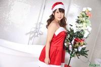 聖誕女郎說她最喜歡吃肉棒