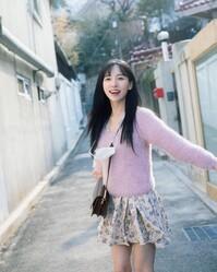 韓國小姐姐是模特兒
