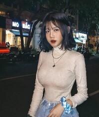 越南胡志明市的甜美學生妹「Quỳnh Như」