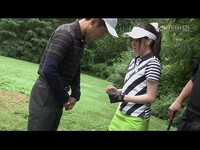 Michiru Tsukino Creampied by Golf Instructor